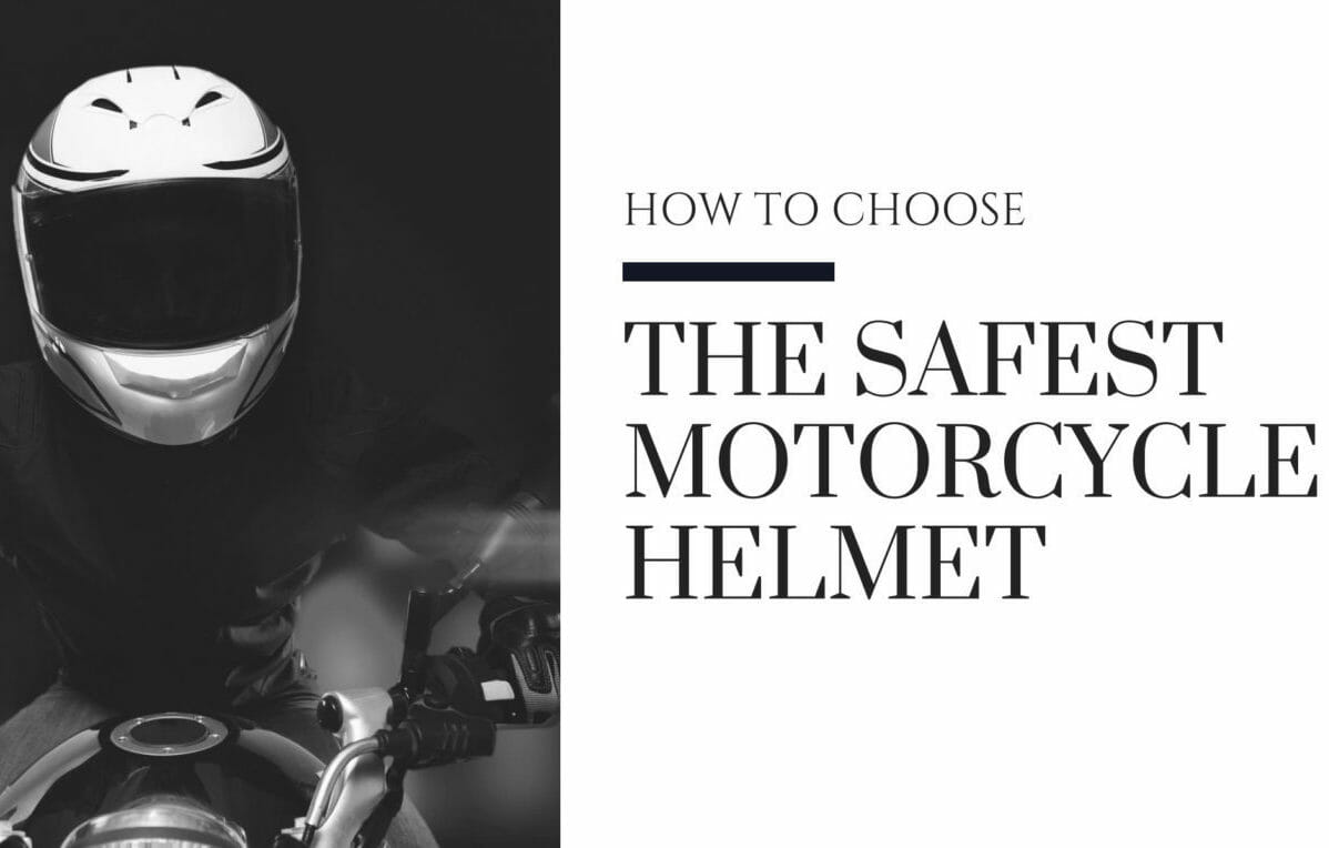 safest motorcycle helmet